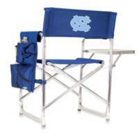 Picnic Time® Navy Blue Collegiate Folding Sports Chair - University of North Carolina