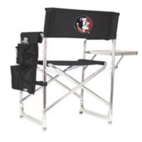 Picnic Time® Florida State University Collegiate Folding Sports Chair in Black