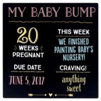 "Pearhead® ""My Baby Bump"" Chalkboard"