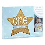 Little Blossoms by Pearhead Baby's First Year Monthly Stickers, Gold Stars