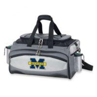 Picnic Time® Collegiate Vulcan BBQ & Cooler Set - University of Michigan