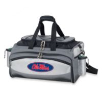 Picnic Time® Collegiate Vulcan BBQ & Cooler Set - University of Mississippi