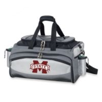 Picnic Time® Collegiate Vulcan BBQ & Cooler Set - Mississippi State University