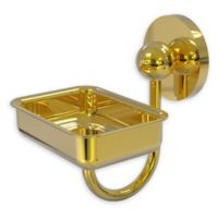 Allied Brass Prestige Skyline Wall Mounted Soap Dish in Polished Brass