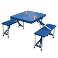 Picnic Time® University of Virginia Collegiate Foldable Table with Seats