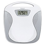 Conair Thinner Portable Digital Bathroom Scale in White/Silver