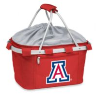 Picnic Time® University of Arizona Collegiate Metro Basket in Red