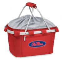 Picnic Time® University of Mississippi Collegiate Metro Basket in Red