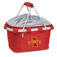Picnic Time® Iowa State University Collegiate Metro Basket in Red