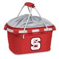Picnic Time® North Carolina State University Collegiate Metro Basket in Red