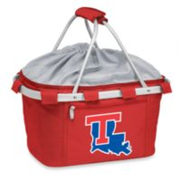 Picnic Time® LLouisiana Tech University Collegiate Metro Basket in Red