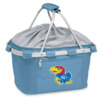 Picnic Time® Sky Blue Collegiate Metro Basket - University of Kansas