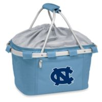 Picnic Time® Sky Blue Collegiate Metro Basket - University of North Carolina
