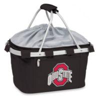 Picnic Time® Black Collegiate Metro Basket - Ohio State