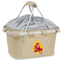 Picnic Time® Arizona State Collegiate Metro Basket in Beige