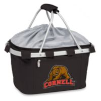 Picnic Time® Cornell University Collegiate Metro Basket in Black