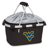 Picnic Time® West Virginia University Collegiate Metro Basket