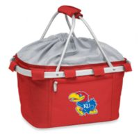 Picnic Time® University of Kansas Collegiate Metro Basket in Red