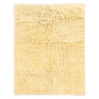Linon Home Décor Products Super Flokati 2000 gram 5' x 7' Area Rug in Natural