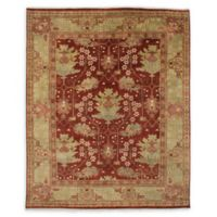 "ECARPETGALLERY Royal Ushak 8'2"" x 9'10"" Area Rug in Red"