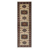 ECARPETGALLERY Royal Kazak 10' Runner in Cream