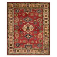 ECARPETGALLERY One of a Kind Finest Gazni 4'11 x 6'4 Area Rug in Red
