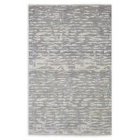 "ECARPETGALLERY Jules Ushak 5'2"" x 8'2"" Area Rug in Dark Grey"