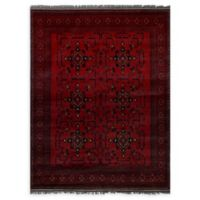 "ECARPETGALLERY Khal Mohammadi 4'10"" x 6'9"" Area Rug in Red"