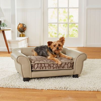 Enchanted Home Rocco Pet Sofa Bed In Grey