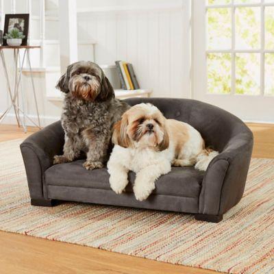 Enchanted Home Pet Artemis Dog Sofa Bed In Grey