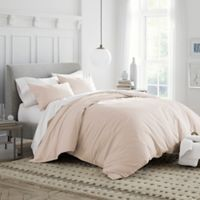 Under The Canopy Organic Cotton King Duvet Cover Set in Pink Blush