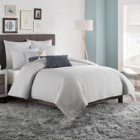 KAS Room Brixton Twin Duvet Cover in Grey
