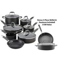 Anolon® Advanced Hard Anodized Nonstick 12-Piece Cookware Set