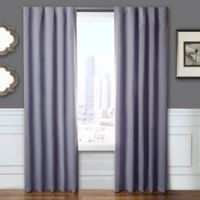 Blackout 84-Inch Window Curtain Panel Pair with Hardware in Gray