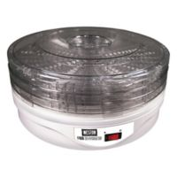 Weston® 4-Tray Food Dehydrator in White