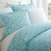Wheatfield 3-Piece Twin Duvet Cover Set in Pale Blue