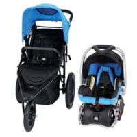 Baby TrendR Stealth Jogger Travel System In Seaport