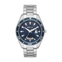 Relic® Taran Men's 44mm Bracelet Watch in Stainless Steel