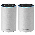 Amazon Two-Pack 2nd Generation Echo in Sand