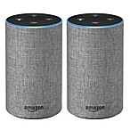 Amazon Two-Pack 2nd Generation Echo in Grey