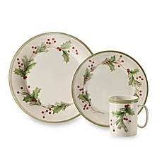Lenox® Holiday Gatherings Holiday Berry 12-Piece Dinnerware Set  sc 1 st  Bed Bath \u0026 Beyond & Lenox® Holiday Gatherings Holiday Berry Dinnerware - Bed Bath \u0026 Beyond