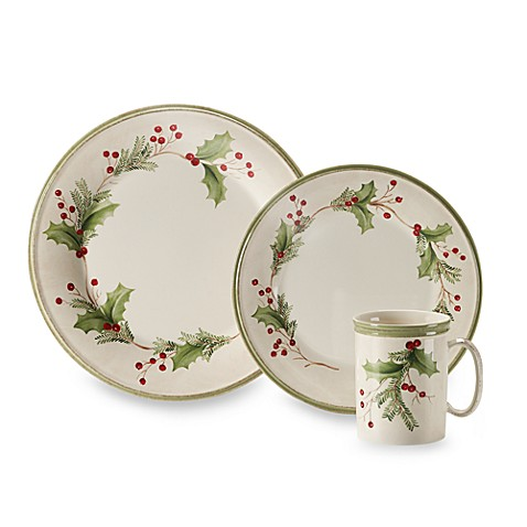 Lenox 174 Holiday Gatherings Holiday Berry Dinnerware Bed