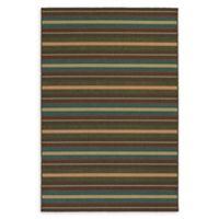 Tommy Bahama® Seaside Stripe 5'3 x 7'6 Indoor/Outdoor Area Rug