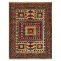 "ECARPETGALLERY Finest Gazni 4'11"" x 6'9"" Area Rug in Red"