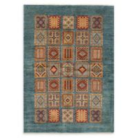 "ECARPETGALLERY Aryana 5'10"" x 8'6"" Hand-Knotted Area Rug in Turquoise"