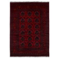 "ECARPETGALLERY Khal Mohammadi 5'7"" x 7'11"" Hand-Knotted Area Rug in Red"