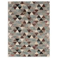 "ECARPETGALLERY Sari Hand-Knotted 5'7"" x 7'5"" Area Rug in Grey"