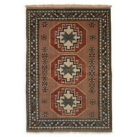 ECARPETGALLERY One of a Kind Melis 5'5 x 7'11 Hand-Knotted Area Rug in Tan
