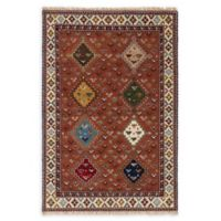 ECARPETGALLERY One of a Kind Royal Kazak 5'1 x 7'5 Hand-Knotted Rug in Dark Copper