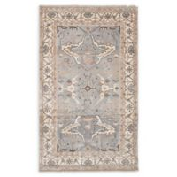 """ECARPETGALLERY Jules Ushak 4'10"""" x 8'2"""" Hand-Knotted Area Rug in Grey"""